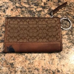 Coach Coin Purse Keychain